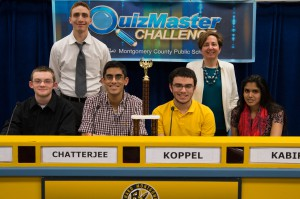quizmaster challenge winners RMHS