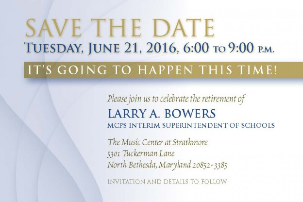 Save the Date-Bowers Retirement