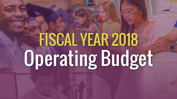 Fiscal Year 2018 Operating Budget Update