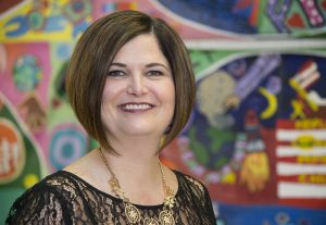 Audra Fladung, director of School Support and Improvement. Office of School Support and Improvement, Carver Educational Services Center. Photographed in a meeting and with children at Charles Drew ES in Silver Spring on Wednesday March 1, 2017. Winner: Dr. Edward Shirley Award for Excellence in Educational Administration and Supervision
