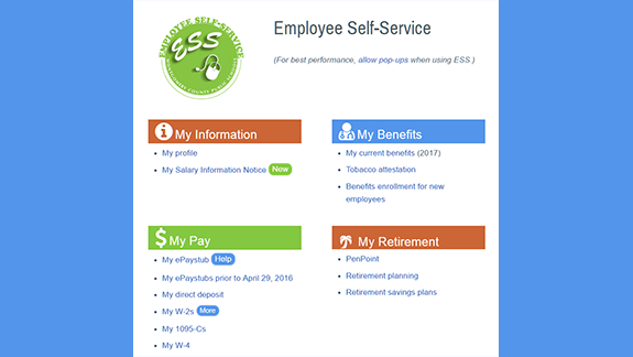 Employee Self-Service: One-stop Access to Online Benefit