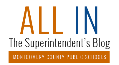 All In: The Superintendent's Blog