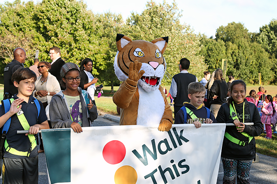 Walk to School Day on October 4!