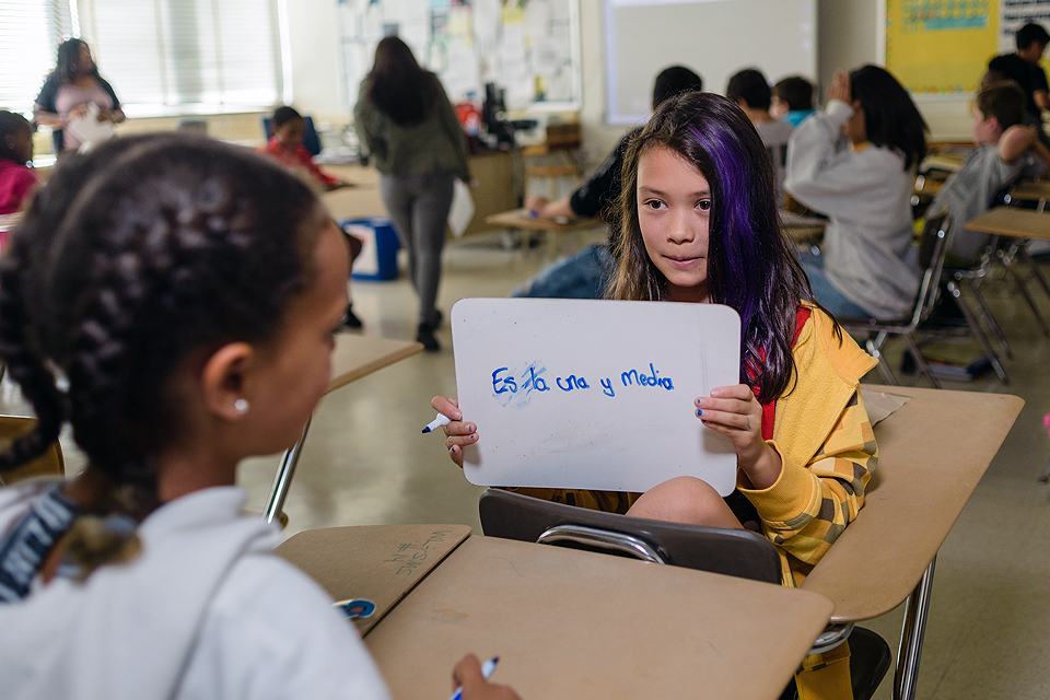 All In: The Benefits of Being Bilingual and Biliterate