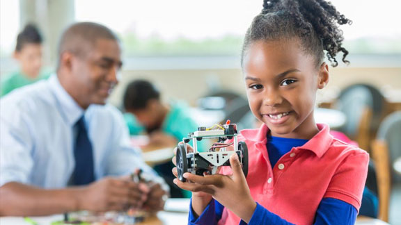Breaking the Code: Creating a Welcoming Environment for Girls of Color in STEM