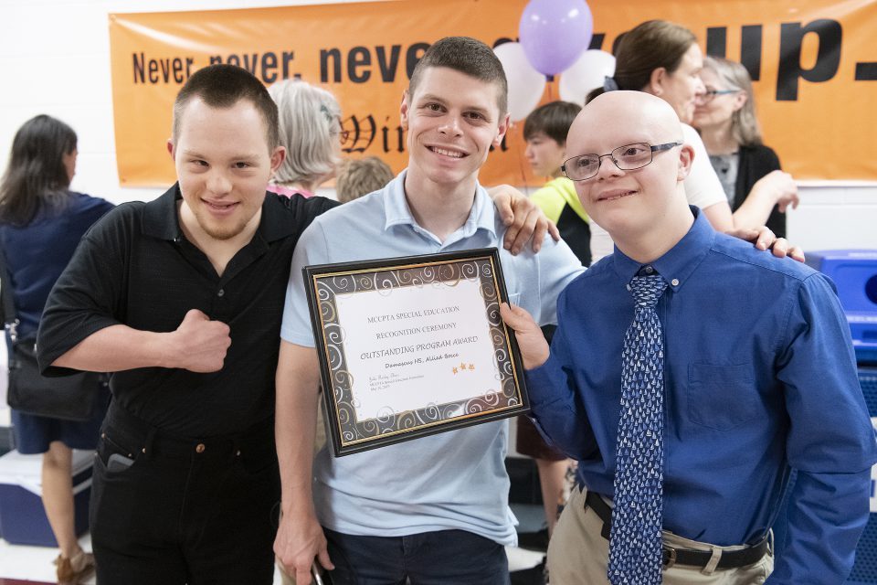Fifty-Seven Honored for Contributions to Special Education