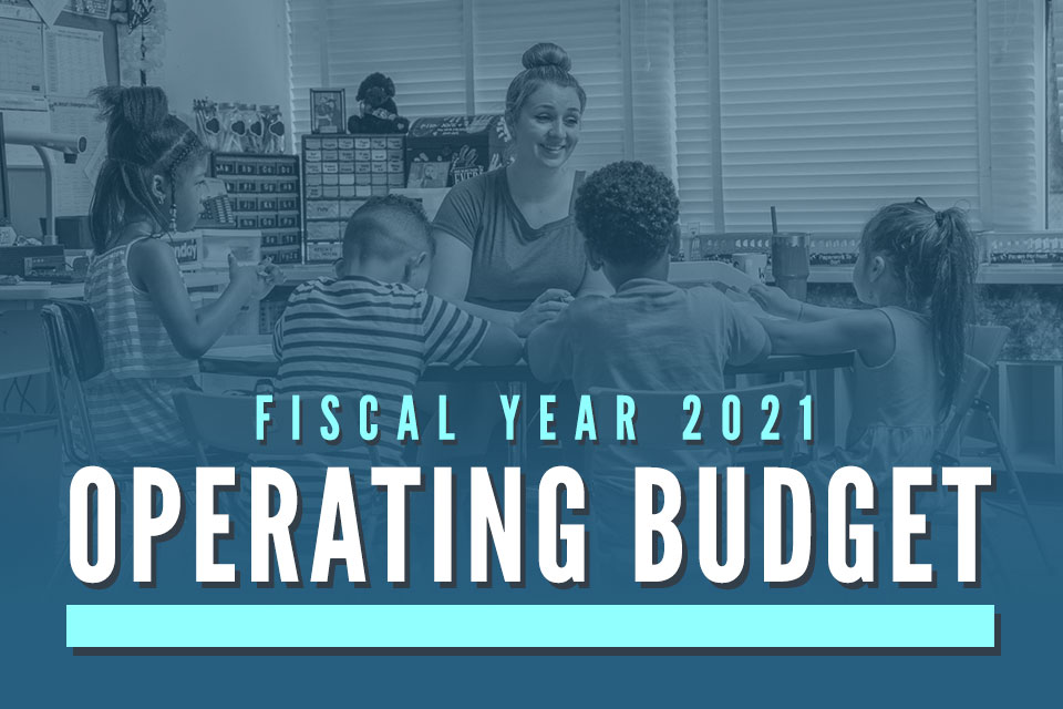 Board of Education Adopts Fiscal Year 2021 Operating Budget