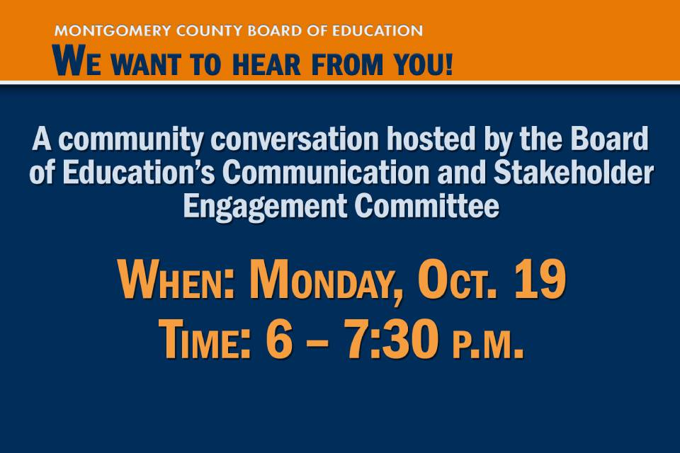 Reminder: Board Committee to Host Community Conversation on Virtual Learning