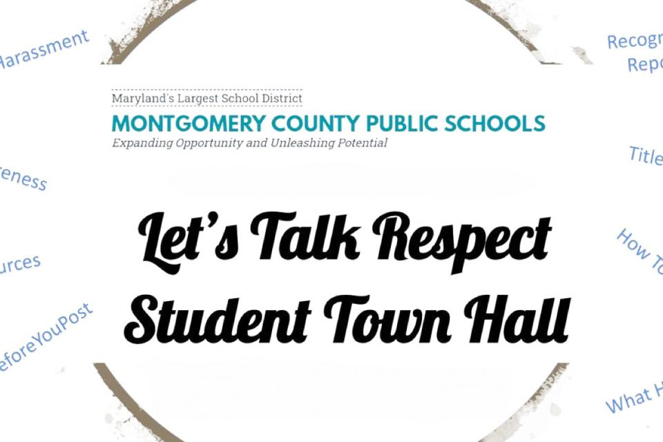 Recording of Let's Talk Respect Town Hall Now Available