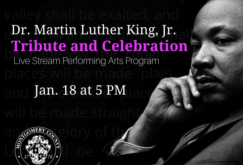 2021 Martin Luther King, Jr.  Tribute, Week of Service Set