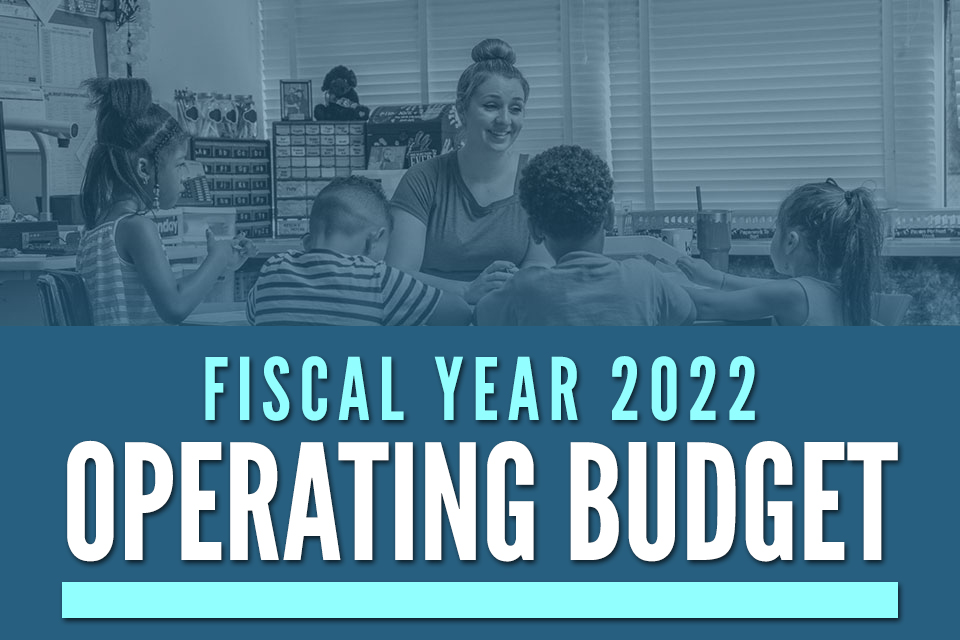 Board of Education Tentatively Adopts Fiscal Year 2022 Operating Budget