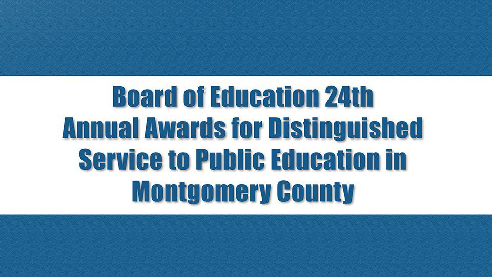BOE Distinguished Service Awards Airing Oct. 22